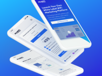 Website Mobile Design | MyWifi Networks