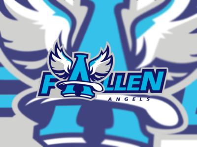 Esport Logo for team Fallen Angels