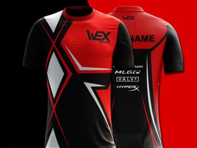 Esport Jersey WEX team