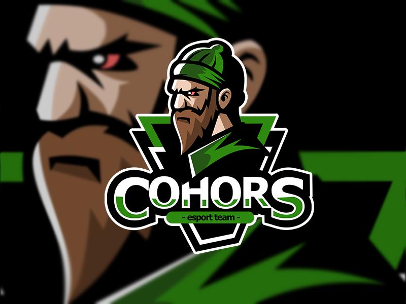Esport Logo for team Cohors by Dima`saz`Zelenko on Dribbble