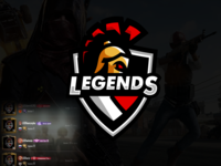 Esport Logo Legends