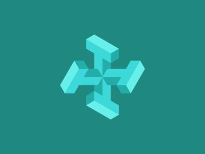 Isometric 4T Logo
