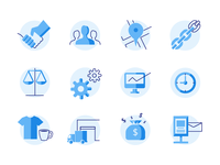 Supply Mgnt Icon Set