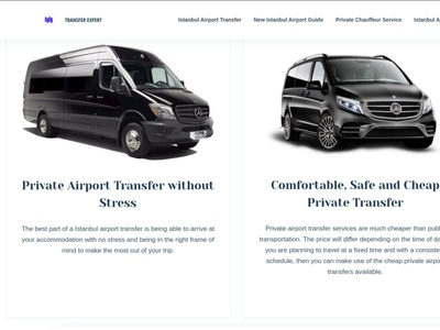 Istanbul Transfer Expert airports airport transfer design