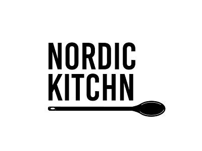 Nordic Kitchn logo design brand illustrator graphic design design logodesign logo