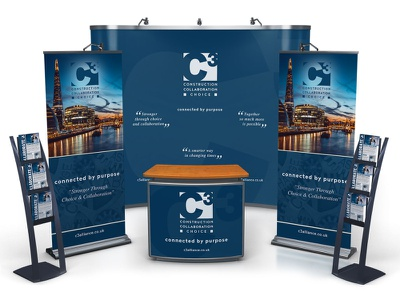 C3 Alliance Construction Marketing vector logo design print design webdesign branded environment logo branding