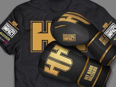 Mayweather Boxer Branding web design print design merchandise design logo branding