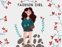 a fashion girl