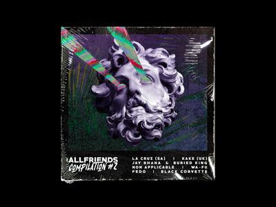 Allfriends Compilation #2 - Album Art