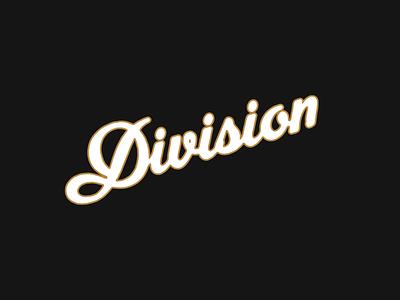 Division logos lettering hand done brand identity hand drawn vintage logo design typography branding logo