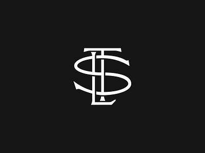 STL Monogram brand identity typography logo design branding logo monogram