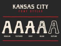 Kansas City Font Styles