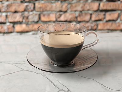 3D Coffee Cup ☕ 3d art blender3d render coffee blender 3d