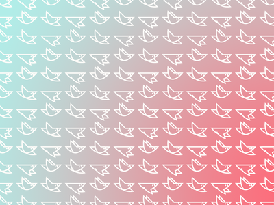 Nightjar branding repeating pattern flap gradient bird branding and identity brand design brand identity logodesign branding logo