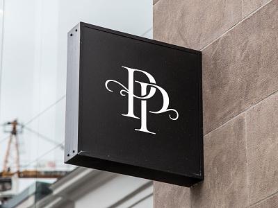 Prestige Patisserie Logo identity monogram letter mark monogram logo monogram branding design logo