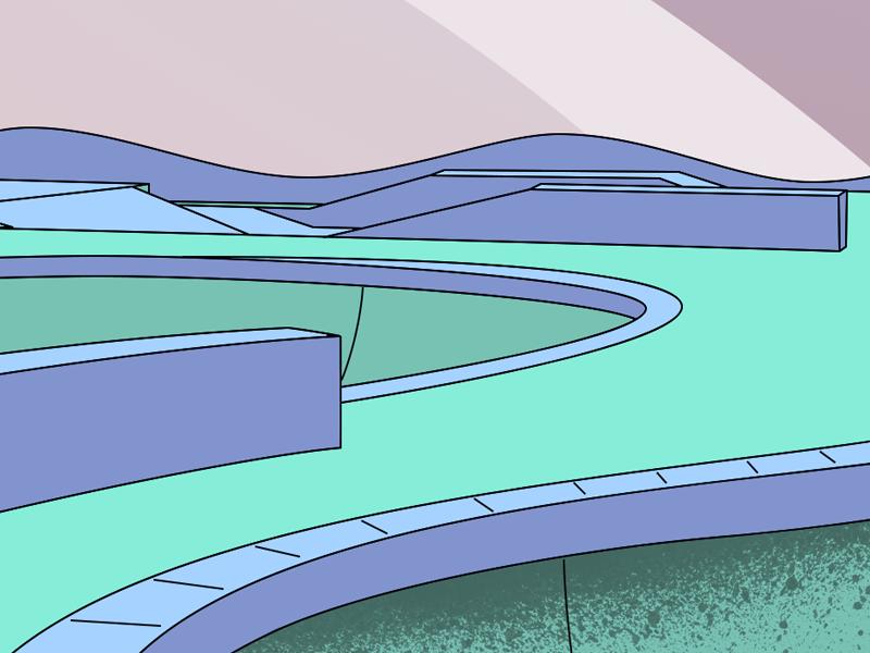 Untitled WIP 🌑 skateboard skate color colour illustration design