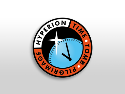 Hyperion Space Patch scifi hyperion space weeklywarmup design illustration patch