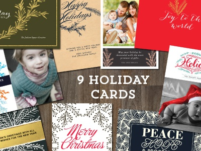 9 Holiday Cards Templates merry christmas happy holidays season greetings holiday card holiday card templates holiday photo card best wishes warmest thoughts leaves berries holiday non-photocard card