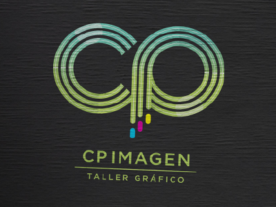 CP Imagen shop logo lettering illustrator illustration grocery graphicdesign caligraphy imprenta branding brand