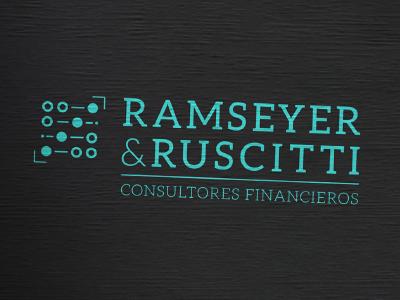 Ramseyer & Ruscitti abaco logo lettering illustrator illustration graphicdesign caligraphy contador branding brand