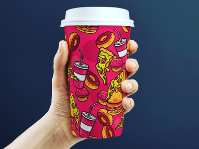 Img 20190311 172109 326 love coffeeshop coffee create adobe ilustrator soda hot glass vector pizza donut illustration designer cool style art creative grapgic design design