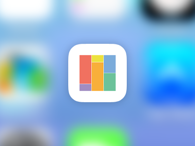 Bars ios 7 app icon game