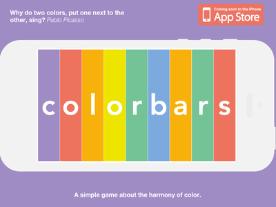 Colorbars - now accepting beta testers! iphone game dev color theory color wheel