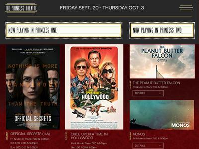 Theatre Website Concept