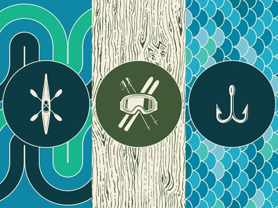 Outdoor Stories branding graphic outdoors symbol vector pattern graphic design