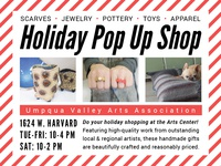 Holiday Pop Up Shop Ad