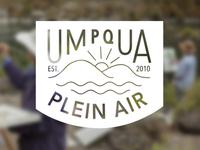 Umpqua Plein Air Logo