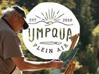 Umpqua Plein Air Logo Take II