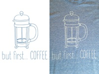 but first... COFFEE.