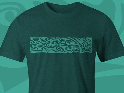 Rad tee, bro tees t-shirt illustration surf graphic design design color 90s vector
