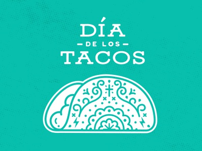 ¡Dia De Los Tacos! mexican food food sugar skull mexican tuesday taco