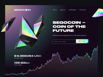 Cryptocurrency coin crystal website lending webdesign uidesign uiux binance crypto wallet finance crypto coin trade crypto exchange exchange cryptocurrency bitcoin trend dark