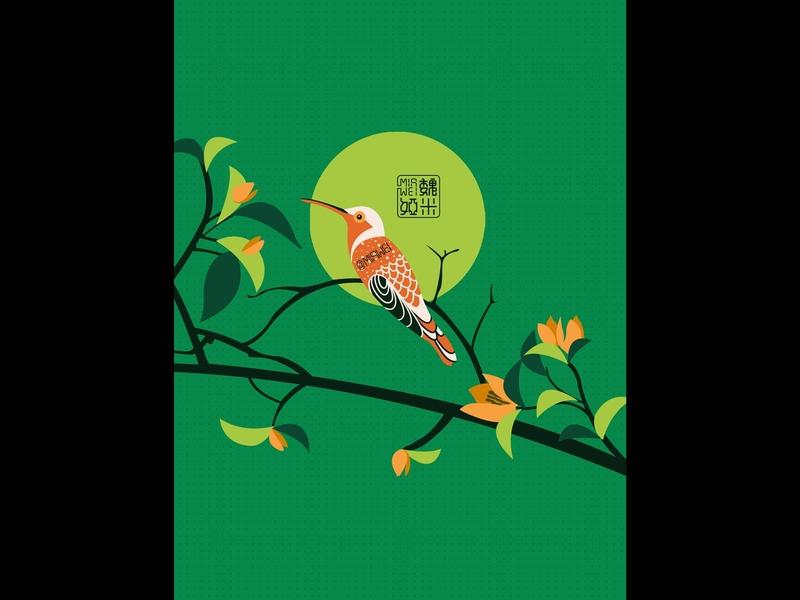 花鸟意境图(9)