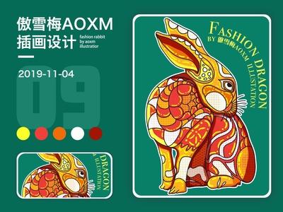 十二生肖-rabbit