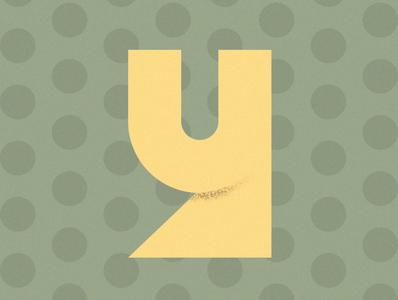 """""""Y"""" lettering type font illustration design colors"""