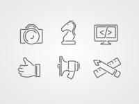 Capabilities Icons
