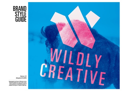 Style Guide Cover univers swiss publication layout modernist creative wildly guide style