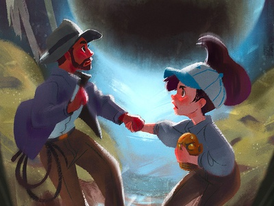 Wedding Invite 2: Indiana Jones raiders of the lost ark short round illustration indiana jones fantasy character design