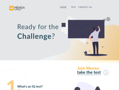 MENSA Sweden Concept One Page