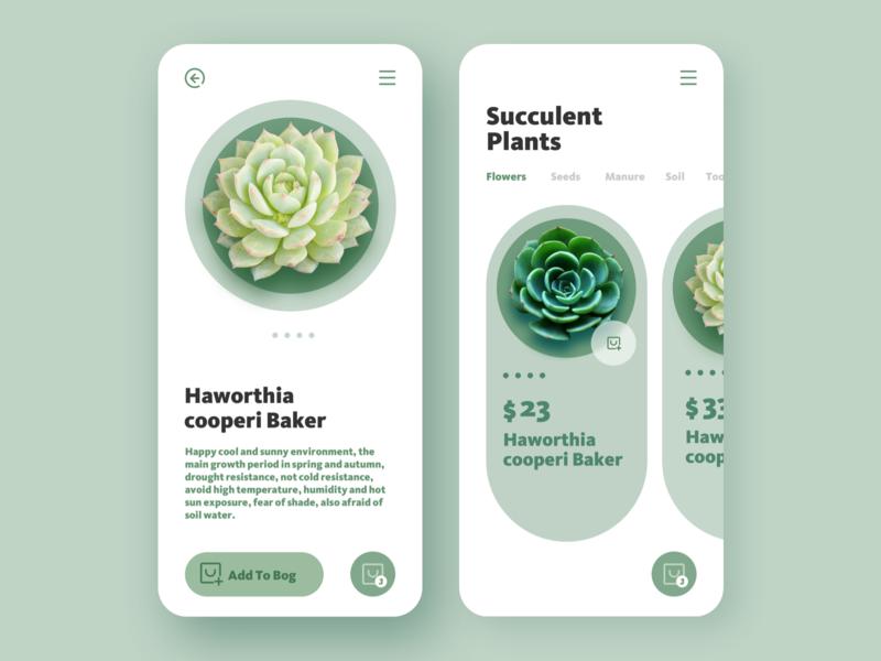 plant app plant design app ui ui design