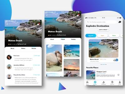 Detai Destination Travel App
