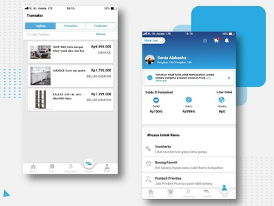 Profil And Transaction The Furnished App