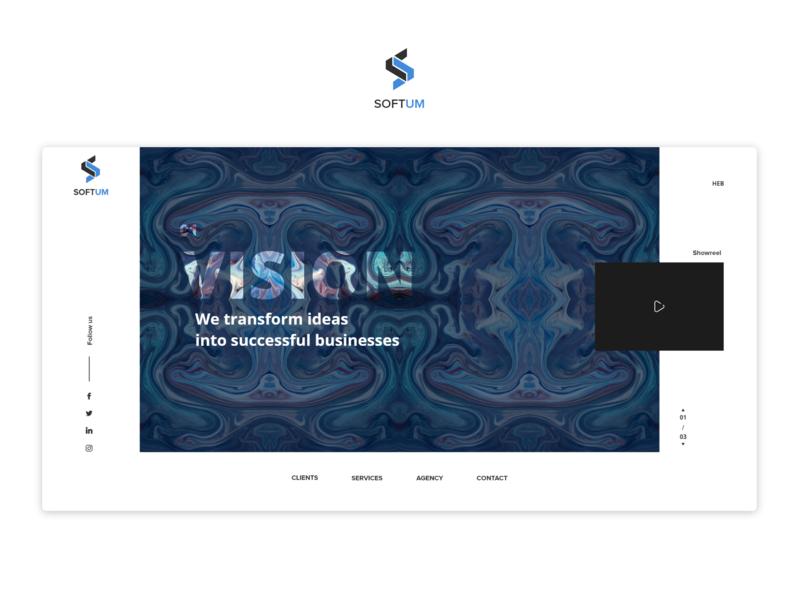 Softum website design web ux ui
