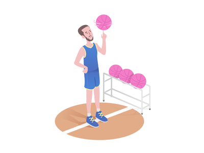 Curry Dribbble