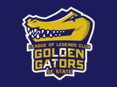 SF State League of Legends Club Logo