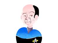 Star Trek Doodles - The Doctor [VOY]